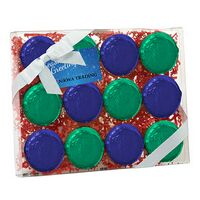 344167824-153 - Elegant Chocolate Covered Oreo® Gift Box - Foil Wrappers (12 pack) - thumbnail