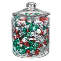 345182970-153 - Gallon Glass Jar - Hershey's Holiday Kisses - thumbnail