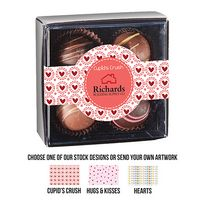 365549300-153 - Valentine's Day 4 Piece Decadent Truffle Box - Assortment 2 - thumbnail