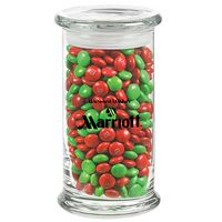 395183019-153 - Status Glass Jar - Holiday M&M's® (20.5 Oz.) - thumbnail