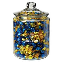 504419199-153 - Gallon Glass Jar - Foil Wrapped Hard Candy - thumbnail