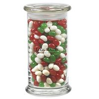 525183022-153 - Status Glass Jar - Holiday Gourmet Jelly Beans (20.5 Oz.) - thumbnail