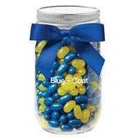 544417699-153 - Glass Mason Jar - Jelly Belly® Jelly Beans (16 Oz.) - thumbnail