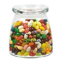 575432250-153 - Vibe Glass Jar - Jelly Belly Jelly Beans (27 Oz.) - thumbnail