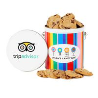 576153574-153 - Dylan's Candy Bar - One Gallon Gourmet Cookie Tin - Chocolate Chip - thumbnail