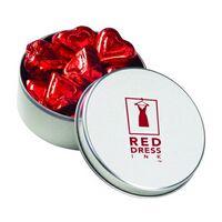 582529046-153 - Large Round Tin - Chocolate Hearts - thumbnail