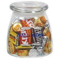 715182862-153 - Vibe Glass Jar - Hershey's® Everyday Mix (27 Oz.) - thumbnail