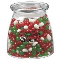 715182867-153 - Vibe Glass Jar - Holiday Gourmet Jelly Beans (27 Oz.) - thumbnail