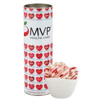 "716195038-153 - 8"" Valentine's Day Snack Tubes - Sweetheart Pretzels - thumbnail"