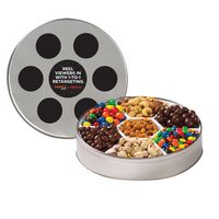 731080737-153 - Large Film Reel Tin - 7 Way Snack Tin - thumbnail