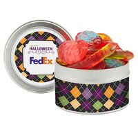 745193762-153 - Candy Cauldron Tin w/ Witches Brew Gummy Mix - thumbnail