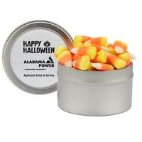 755193737-153 - Candy Cauldron Tin w/ Candy Corn - thumbnail