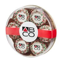755801885-153 - Custom Belgian Chocolate Covered Oreo® Gift - Holiday Nonpareil Sprinkles - thumbnail