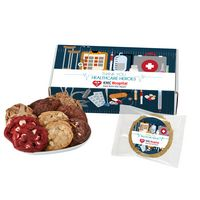 756259968-153 - Fresh Baked Cookie Healthcare Heroes Gift Set - 15 Assorted Cookies - in Mailer Box - thumbnail