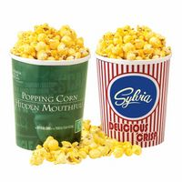 782530830-153 - Movie Theater Tub - Butter Popcorn w/ Lid - thumbnail