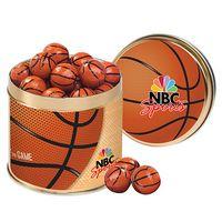 795563775-153 - Half Court Tin with Chocolate Basketballs - thumbnail