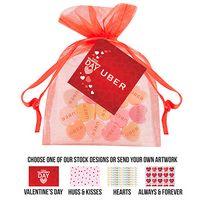 945549369-153 - Organza Bag - Custom Conversation Hearts (Large) - thumbnail