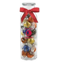 984493617-153 - Glass Hydration Jar - Lindt® Truffles (24 Oz.) - thumbnail