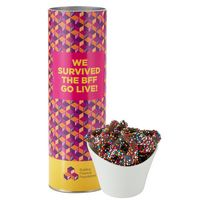 "996196987-153 - 8"" Snack Tube Collection - Milk Chocolate Sprinkled Pretzels - thumbnail"