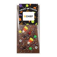 996376662-153 - Halloween Belgian Chocolate Bar - 3.5 Oz. - thumbnail