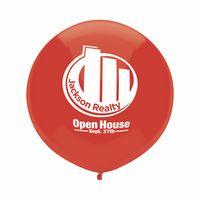 "302008248-157 - 17"" Crystal/Fun Color Outdoor Display Latex Balloon - thumbnail"