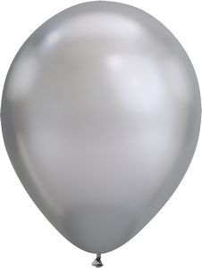 "316214030-157 - 11"" Qualatex Round Chrome Color Latex Balloon - thumbnail"