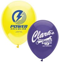 "332243789-157 - 9"" AdRite Crystal/ Fun Color Economy Line Latex Balloon - thumbnail"