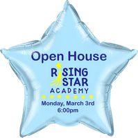 "595514168-157 - 20"" Star 2-Color Spot Print Microfoil Balloon - thumbnail"