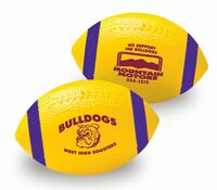 "711496791-157 - 7"" AdMax Vinyl Football with Stripes - thumbnail"