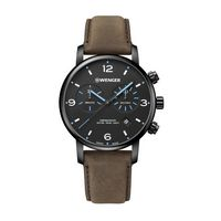 106226343-174 - Metropolitan Chrono Black Dial w/Blue Hands Watch - thumbnail