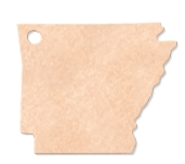"505802327-174 - 13"" x 11.25"" Epicurean Arkansas Shaped Cutting Board - thumbnail"
