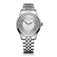 716226411-174 - Alliance Large Silver Dial Stainless Steel Bracelet Watch - thumbnail