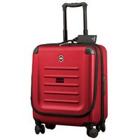 745937149-174 - Spectra Dual-Access Extra-Capacity Red Carry-On Suitcase - thumbnail