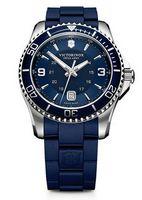 745960616-174 - Maverick Large Blue Dial/Blue Rubber Strap Watch - thumbnail