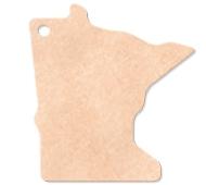 "795802355-174 - 14""x12"" Epicurean Minnesota Shaped Cutting Board - thumbnail"