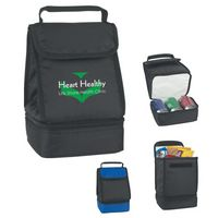 113708541-816 - Dual Compartment Lunch Bag - thumbnail