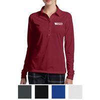 125551504-816 - Nike Ladies' Long Sleeve Dri-FIT Stretch Tech Polo - thumbnail