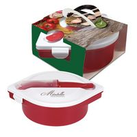 135387031-816 - Multi-Compartment Food Container And Utensils With Custom Handle Box - thumbnail