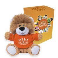 "165013513-816 - 6"" Lovable Lion With Custom Box - thumbnail"