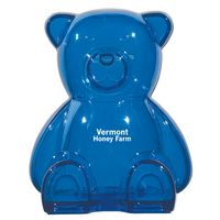 172869843-816 - Plastic Bear Shape Bank - thumbnail