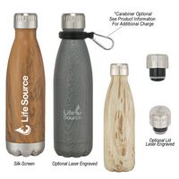 175056658-816 - 16 Oz. Woodtone Swiggy Bottle - thumbnail