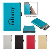 185940392-816 - Aluminum RFID Data Blocking Card Holder - thumbnail