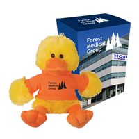 "195013523-816 - 6"" Delightful Duck With Custom Box - thumbnail"
