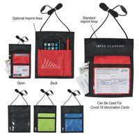 305056666-816 - Neck Wallet Badge Holder - thumbnail