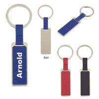305604220-816 - Chroma Leatherette Key Tag - thumbnail