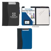 321347562-816 - Microfiber Clip Board With Embossed PVC Trim - thumbnail