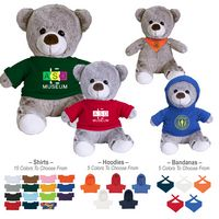 """345808141-816 - 8 1/2"""" Valerie Velour Touch Bear - thumbnail"""