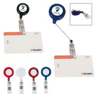 34755203-816 - Retractable Badge Holder With Laminated Label - thumbnail