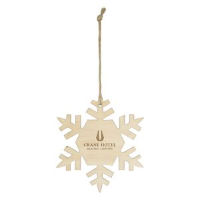 355760402-816 - Wood Ornament - Snowflake - thumbnail