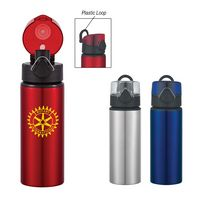 363611771-816 - 25 Oz. Aluminum Sports Bottle With Flip-Top Lid - thumbnail